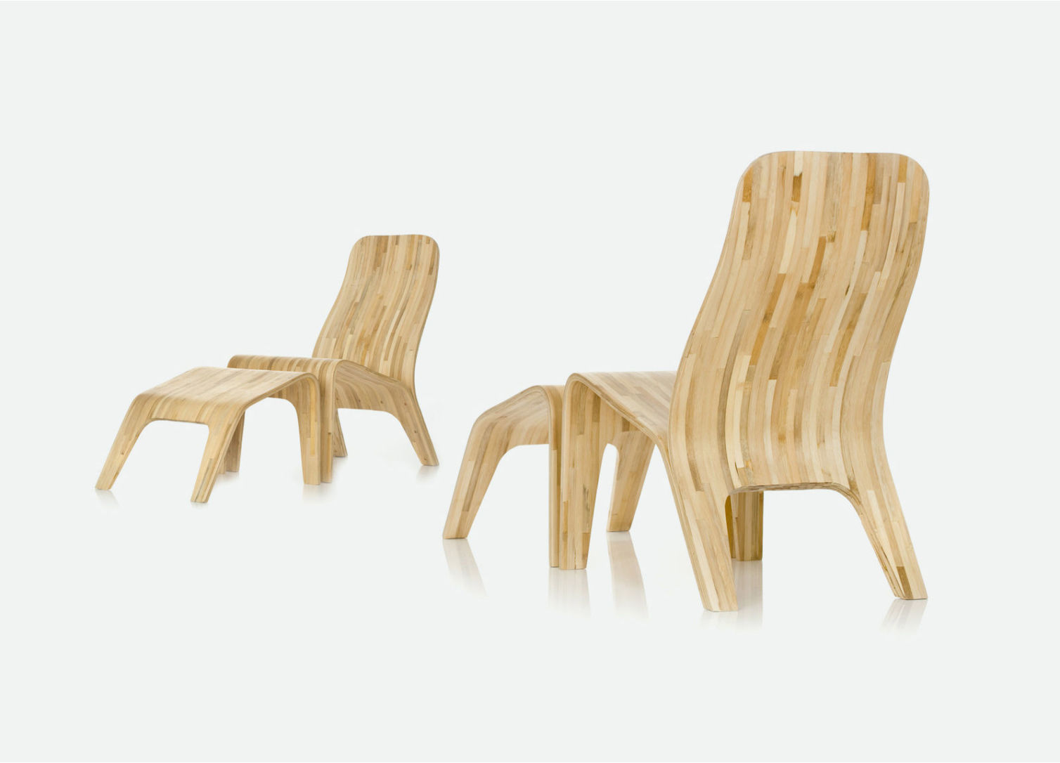 Lounge Wooden Chairs (Demo)